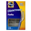 Jarden Home Brands 97 24CT CLR Plas Fork