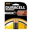 Procter & Gamble/Duracell MN2400B2Z DURA2PK AAA Alk Battery