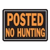 Hy-Ko Products 812 10X14 Alu No Hunt Sign