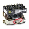 Square D 8965RO10V02 Hoist Contactor, 120VAC, w/JumperStraps, 3P