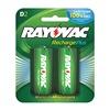 Rayovac PL713-2 GEN Rechargeable Battery, 3000mAh, PK 2