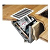 Beacon-Morris FK42 Hydronic Heater In Floor Cabinet, Recess