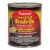 Imperial Mfg Group Usa Inc CH0134 16 OZ Black Brush On Paint