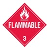 Brady 63409 Vehicle Placard, Flammable