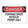 Brady 70248 Danger Sign, 7 x 10In, R and BK/WHT, ENG