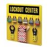 Prinzing 3003Y Lockout Station, Filled, 6 Steel Locks