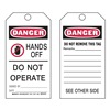 Brady 87001 Danger Tag, 5-3/4 x 3 In, ISO 9001, PK25