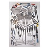 Westward 3VA99 SAE and MetricMaster Tool Set Number of Pieces: 307,  Primary Application: General Purpose