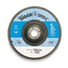 Weiler 50592 Arbor Mount Flap Disc, 4in, 36, ExtraCoarse