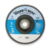 Weiler 50843 Arbor Mount Flap Disc, 7in, 40, Coarse