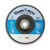 Weiler 50845 Arbor Mount Flap Disc, 7in, 80, Medium