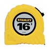 Stanley 30-495 Measuring Tape, 16 Ft, Yellow, Forward