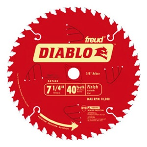 FREUD INC Diablo Carbide Tipped Circular Saw Blade