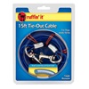 Westminster Pet Products 29115 15' BLU LW Dog Tieout