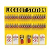 Brady 51196 Lockout Station, Filled, 21-1/2 In H