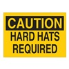 Brady 22406 Caution Sign, 10 x 14In, BK/YEL, ENG, Text