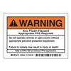 Brady 99454 Arc Flash Protection Label, PK 5