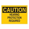 Brady 84538 Caution Sign, 10 x 14In, BK/YEL, ENG, Text