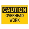 Brady 42447 Caution Sign, 10 x 14In, BK/YEL, AL, ENG