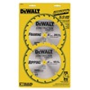 "DEWALT DW9158 6-1/2"" 16/24T Comb Pack"