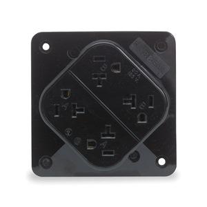 Hubbell Wiring Device-Kellems HBL420BK