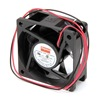 Dayton 6KD71 Axial Fan, 24VDC, 2-3/8In H, 2-3/8In W