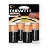 Duracell MN1400R4ZX Battery, Alkaline, PK 4