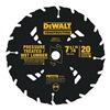 """DEWALT DW3174 7-1/4"""" 20T Saw Blade"""