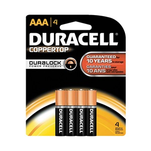 Duracell MN2400B4Z