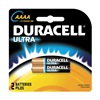 Duracell MX2500B2U Battery, Alkaline, AAAA, PK 2