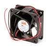 Dayton 4WT34 Axial Fan, 12VDC, 2-3/8In H, 2-3/8In W