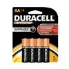 Duracell MN1500B4Z Battery, Alkaline, AA, PK 4