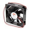 Dayton 6KD73 Axial Fan, 24VDC, 3-5/8In H, 3-5/8In W