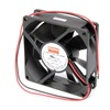 Dayton 6KD68 Axial Fan, 12VDC, 3-1/8In H, 3-1/8In W