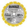 "DEWALT DW3592B10 7-1/4""18T Carbide Blade, Pack of 10"