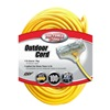 Coleman Cable 04189 100' 12/3 3Out Ext Cord