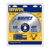"IRWIN 14070 10"" 40T Carb Tip Blade"