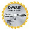 """DEWALT DW9054 5-3/8"""" 24T Carb Blade"""
