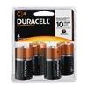Procter & Gamble/Duracell MN1400R4ZX DURA 4PK C Alk Battery