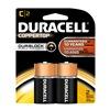 Procter & Gamble/Duracell MN1400B2Z DURA 2PK C Alk Battery