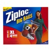 S C Johnson Wax 65644 Ziploc4Pk Xl Hd Big Bag
