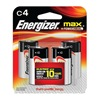 Eveready Battery Co E93BP-4 EVER 4PK C Alk Battery