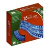 Noma/Inliten-Import 55134-88 HW18' BLU Rope LGT Set