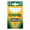 Crayola Llc 51-0320 12Ct Wht Chalk, Pack of 6