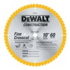 """DEWALT DW3106 10"""" 60T Circ Saw Blade"""