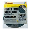 Thermwell R516H 1-1/4x7/16 BLK FoamTape