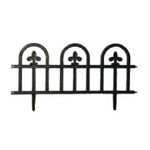 SUNCAST CORP Suncast 8' Wrought Iron Black Fence Edging