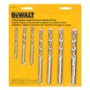 DEWALT DW5207 7Pc Mas Drill Bit Set