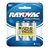 Rayovac A1604-2 Rayo 2Pk 9V Alk Battery