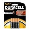 Procter & Gamble/Duracell MN2400B4Z DURA4PK AAA Alk Battery